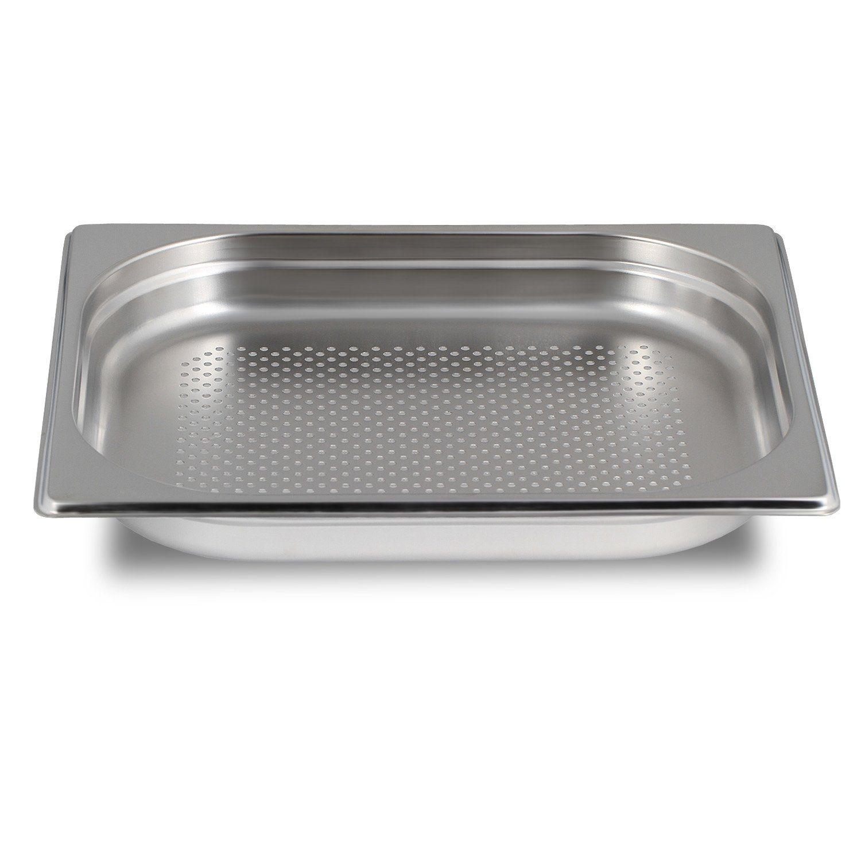 greyfish gn beh lter gelocht edelstahl gastronorm 1 2 40 mm ebay. Black Bedroom Furniture Sets. Home Design Ideas