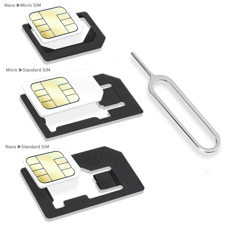 wicked chili duo sim stanze und adapter set nanosim microsim minisim eject pin ebay. Black Bedroom Furniture Sets. Home Design Ideas