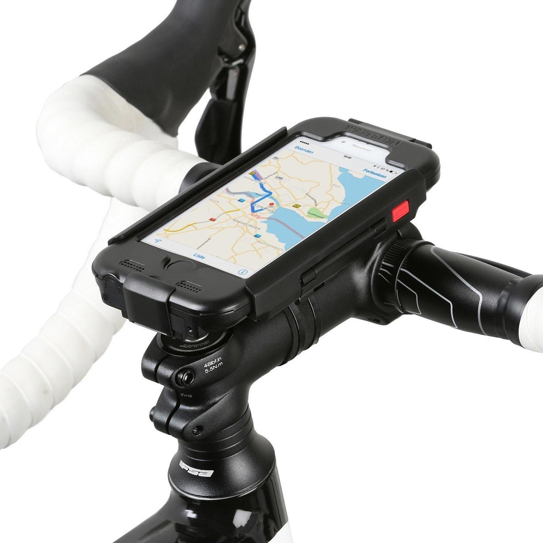 raincase 3 0 fahrrad halterung f r apple iphone 6s 6 4. Black Bedroom Furniture Sets. Home Design Ideas